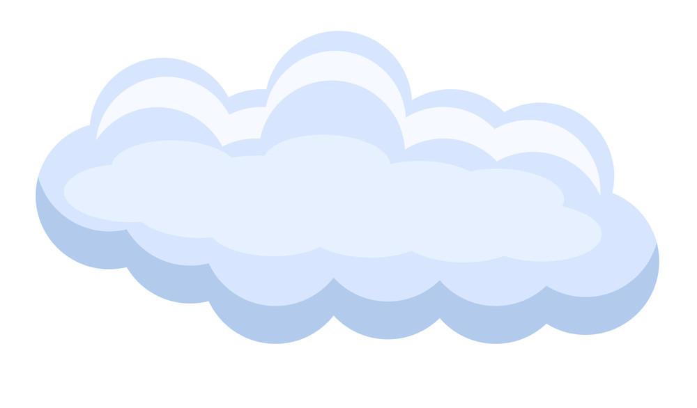 Vector Cloud Banner