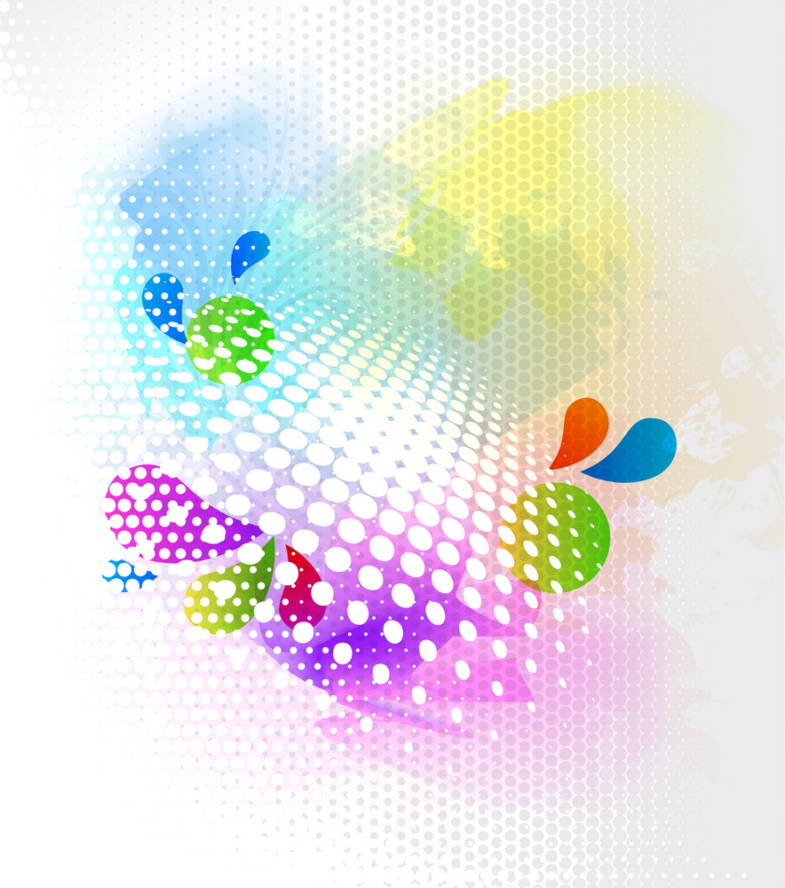 Vector Colorful Abstract Background Royalty Free Stock Image