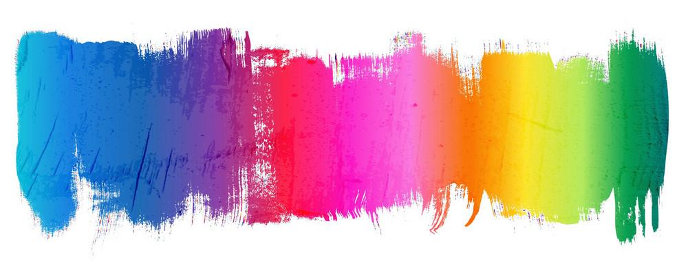 Vector Colorful Grunge Illustration