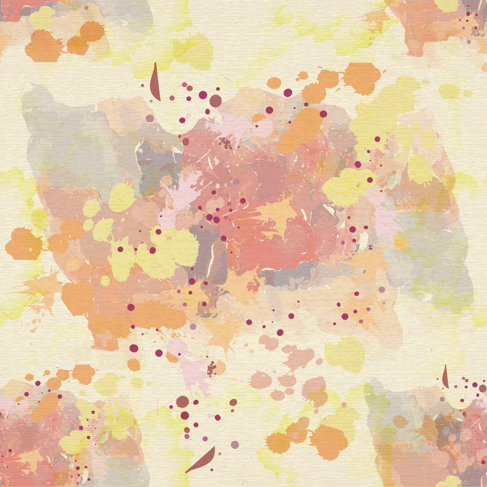 Vector Colorful Pattern With Splashes