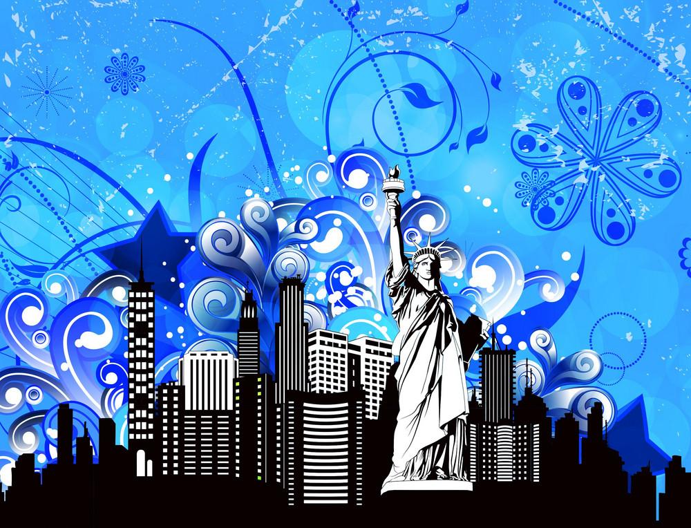 Vector Colorful Urban Illustration
