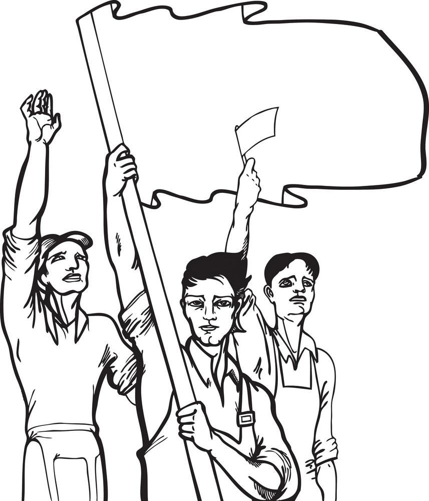 Vector Communist Workers