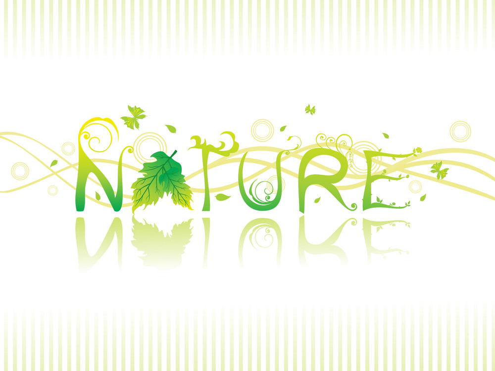 Vector Creative Nature Background
