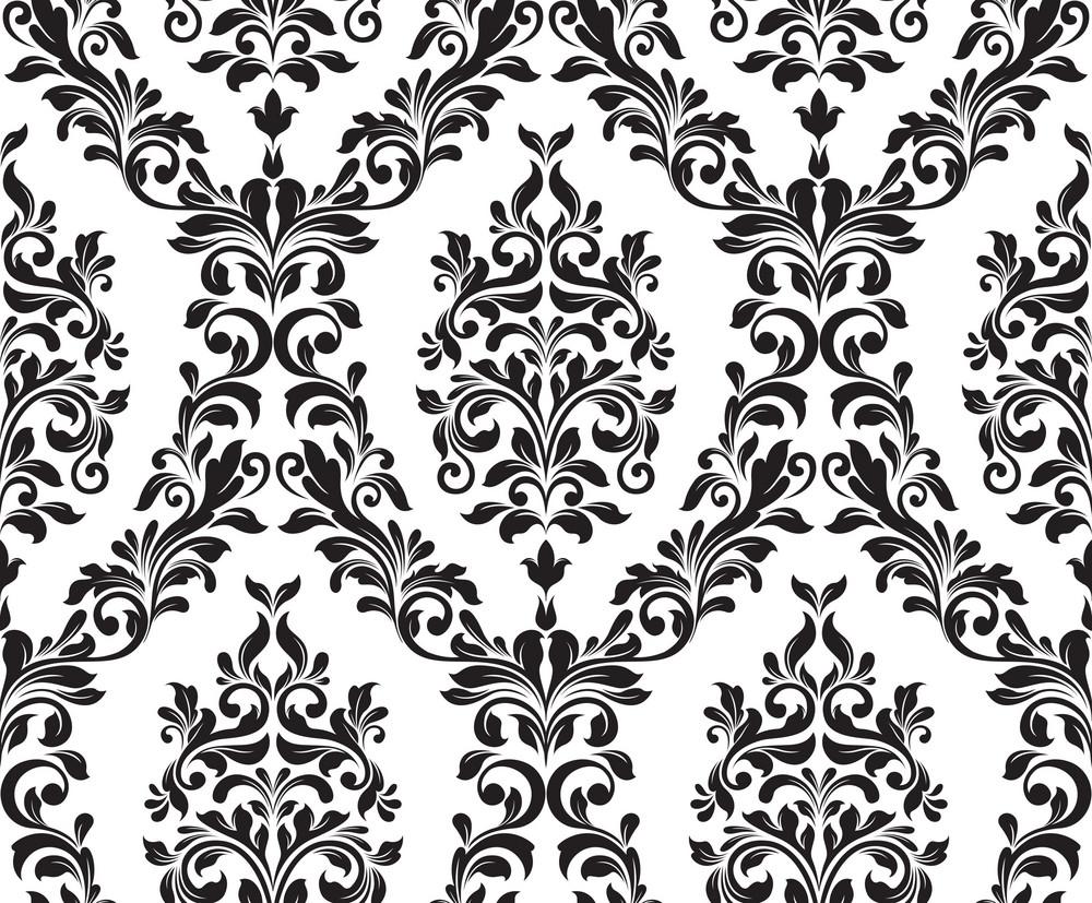 Vector Damask Pattern