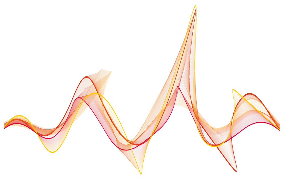 Vector Decor Wave Lines