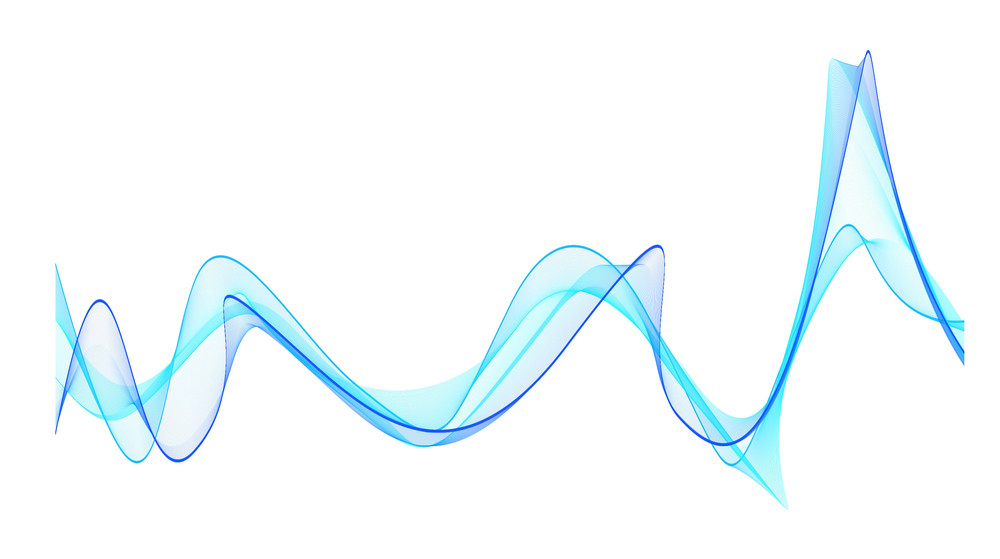 Vector Decor Wavy Lines