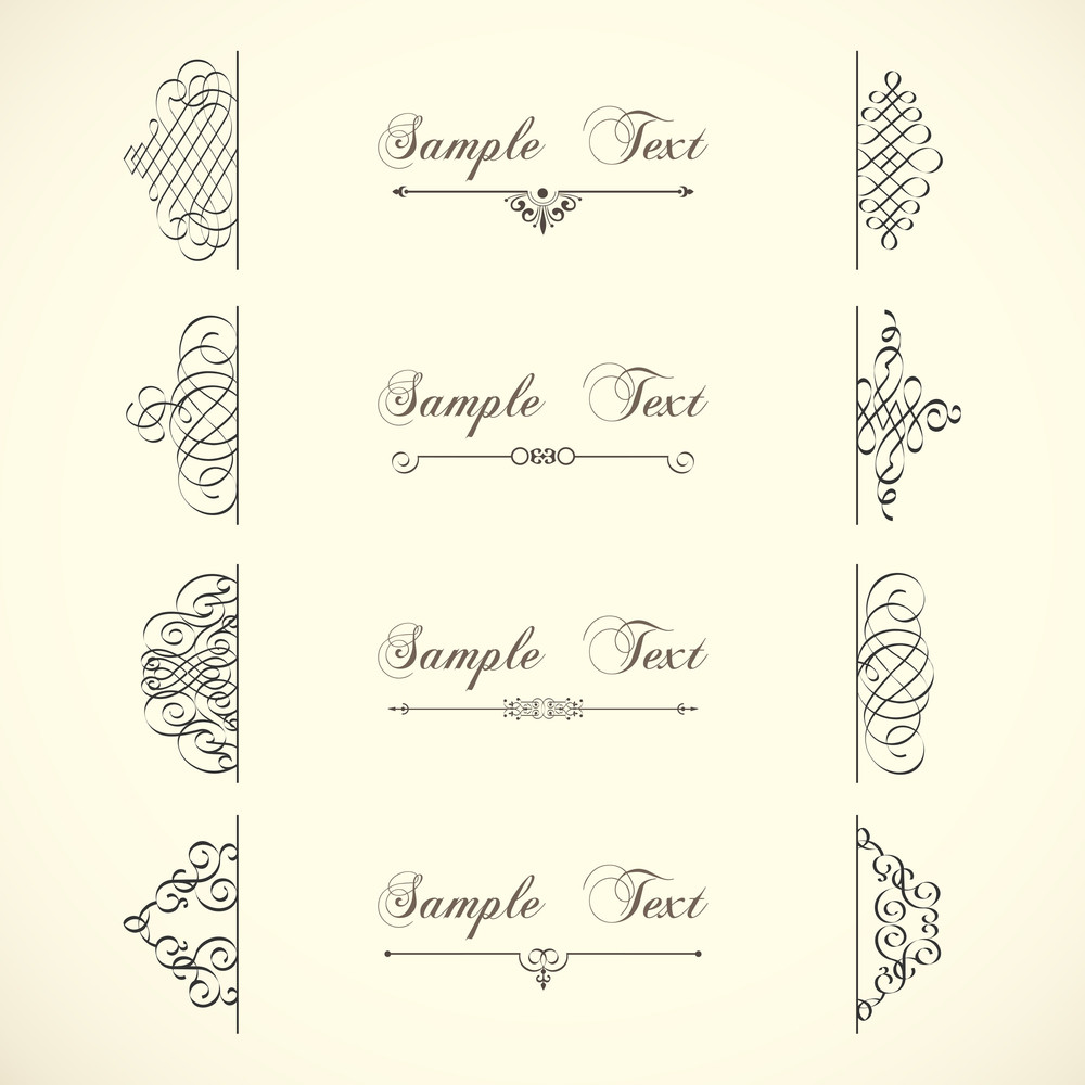 Vector Decorative Design Elements