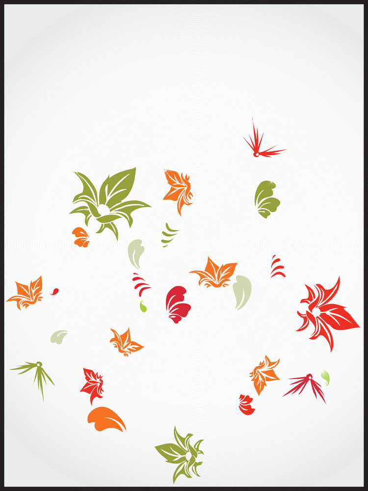 Vector Decorative Floral Series_15
