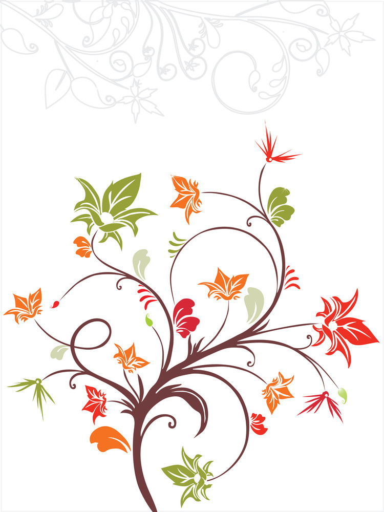 Vector Decorative Floral Series_20
