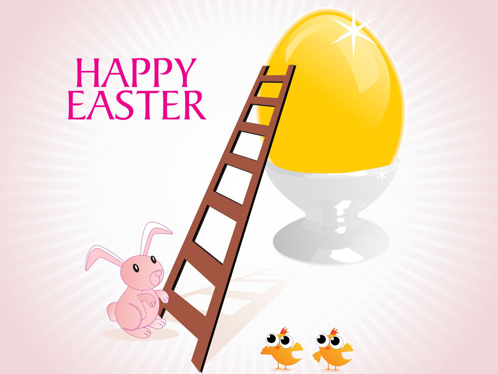Vector Easter Day Background