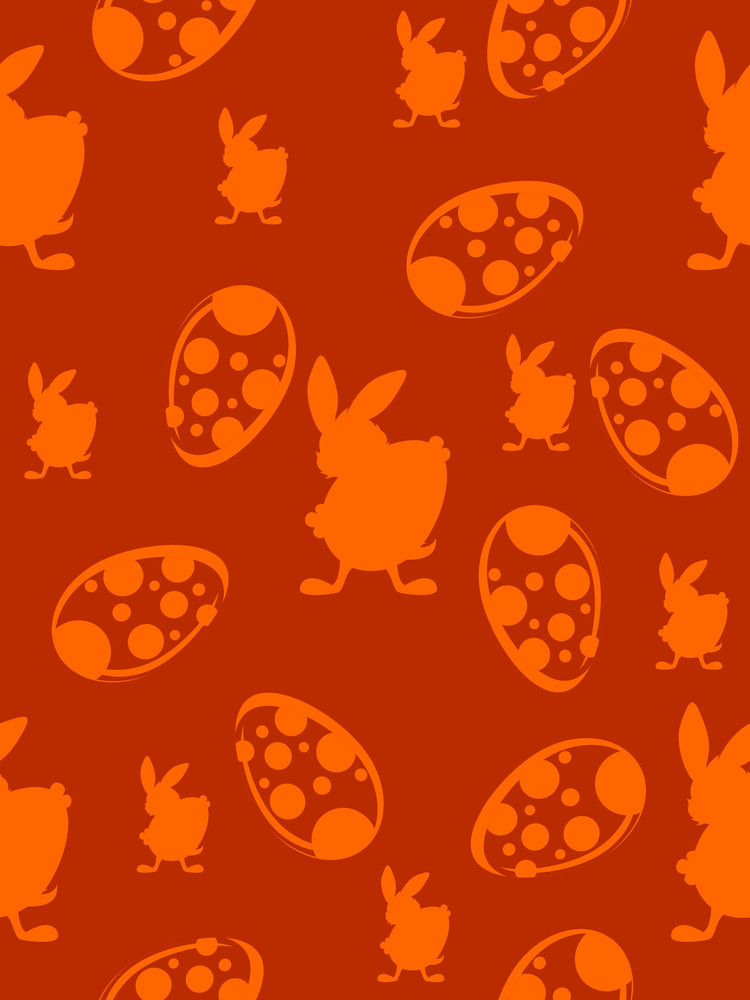 Vector Easter Pattern Background