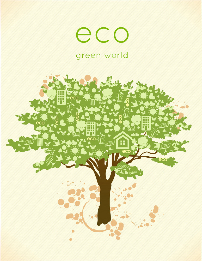 Vector Eco Friendly Illustration