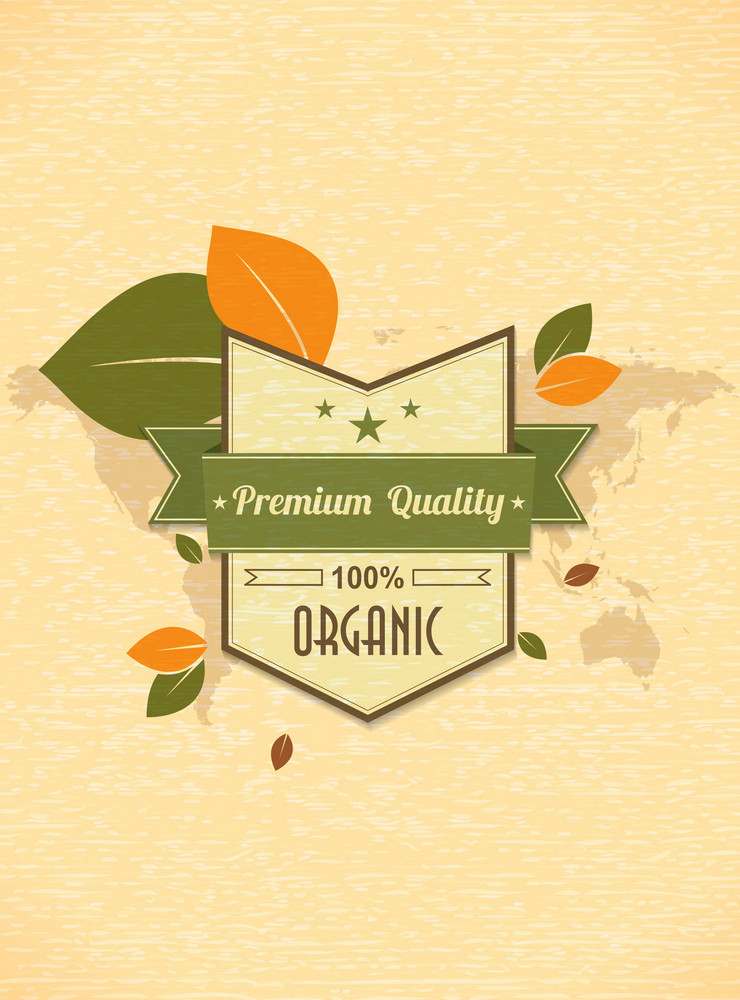 Vector Eco Friendly Label