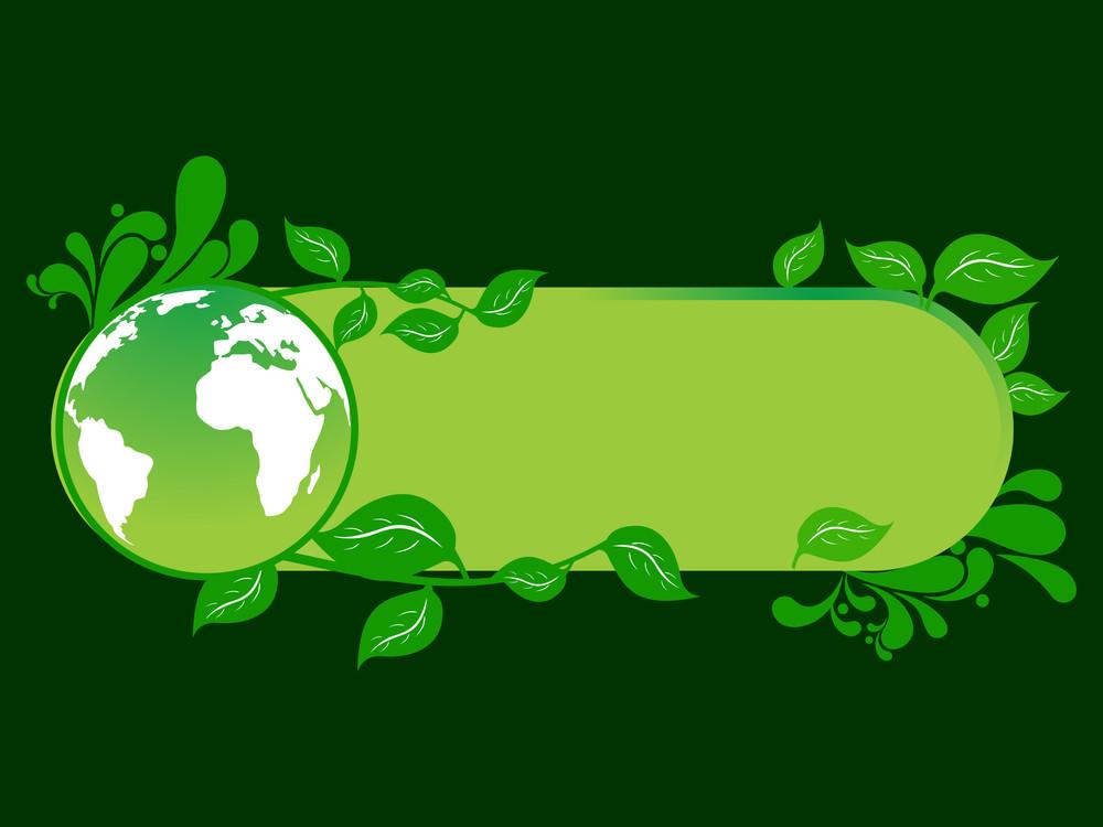Vector Ecology Concept Banner