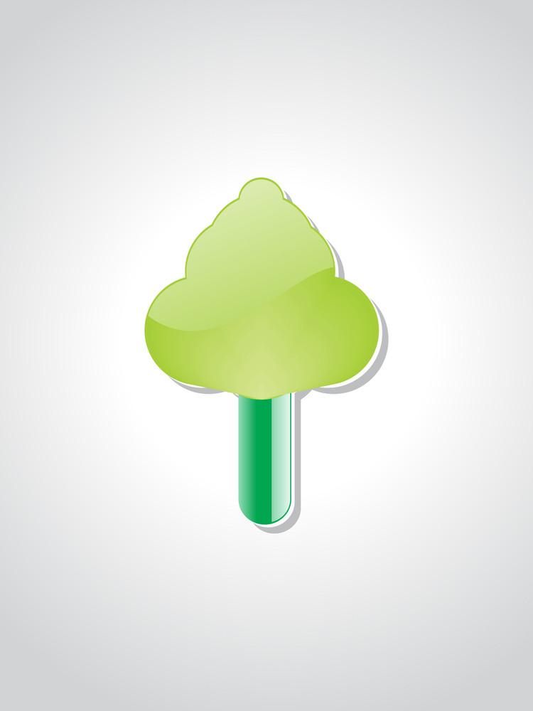 Vector Ecology Tree Illustration