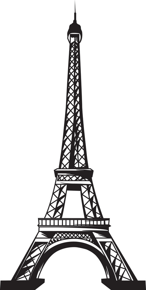 Vector eiffel tower royalty free stock image storyblocks vector eiffel tower thecheapjerseys Gallery
