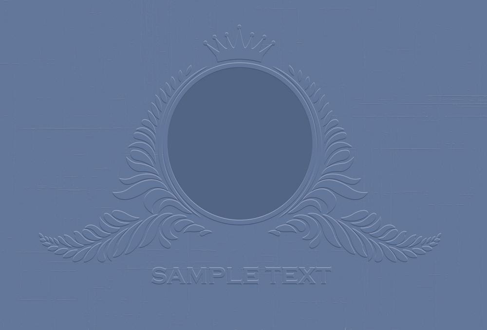 Vector Engraved Vintage Emblem