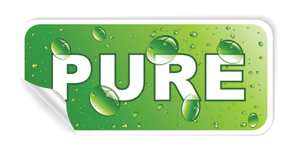Vector Environmental Sticker