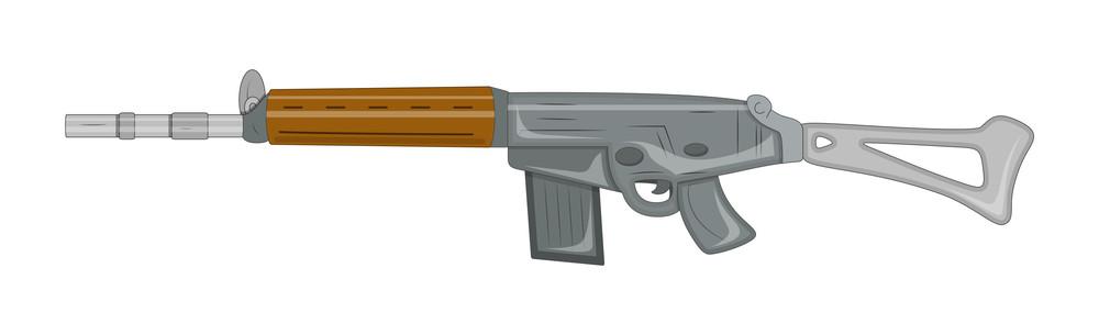 Vector Fancy Gun