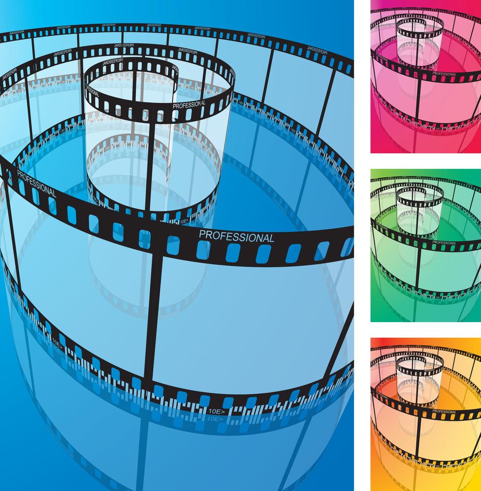 Vector Film Strip.