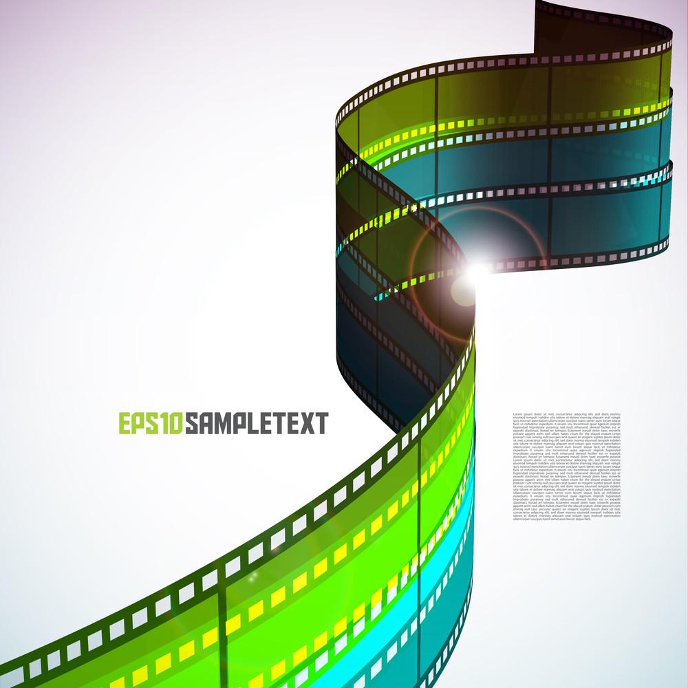 Vector Film Stripe
