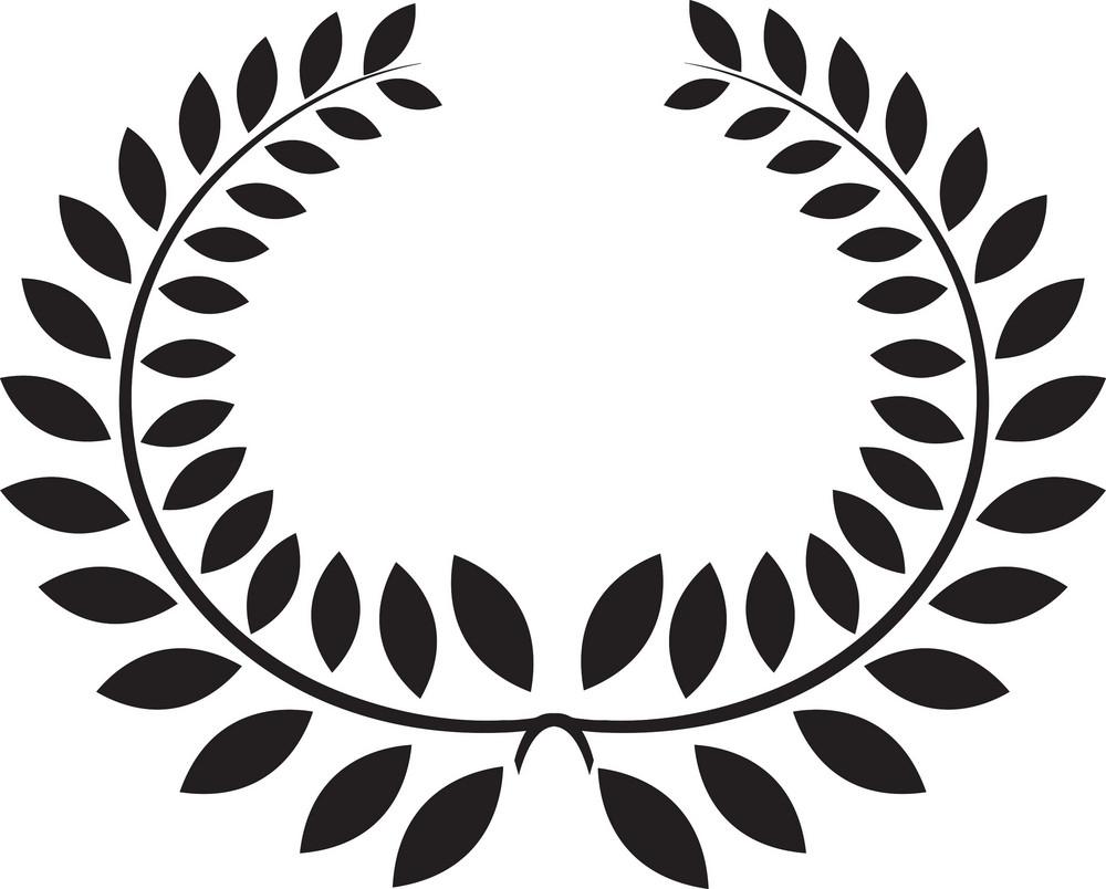 Vector Floral Laurel