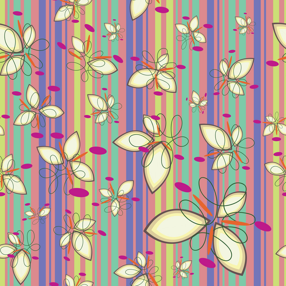 Vector Floral Pattern