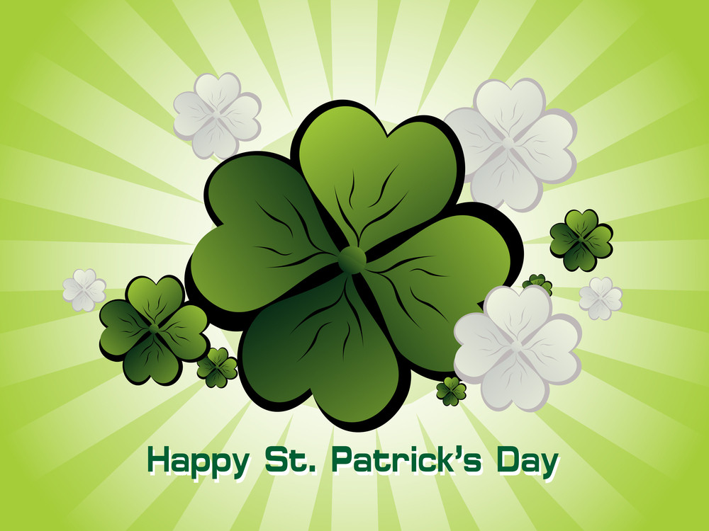 Vector For Happy St. Patrick's Day