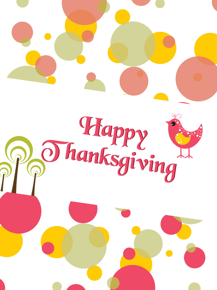 Vector For Happy Thanksgiving Day
