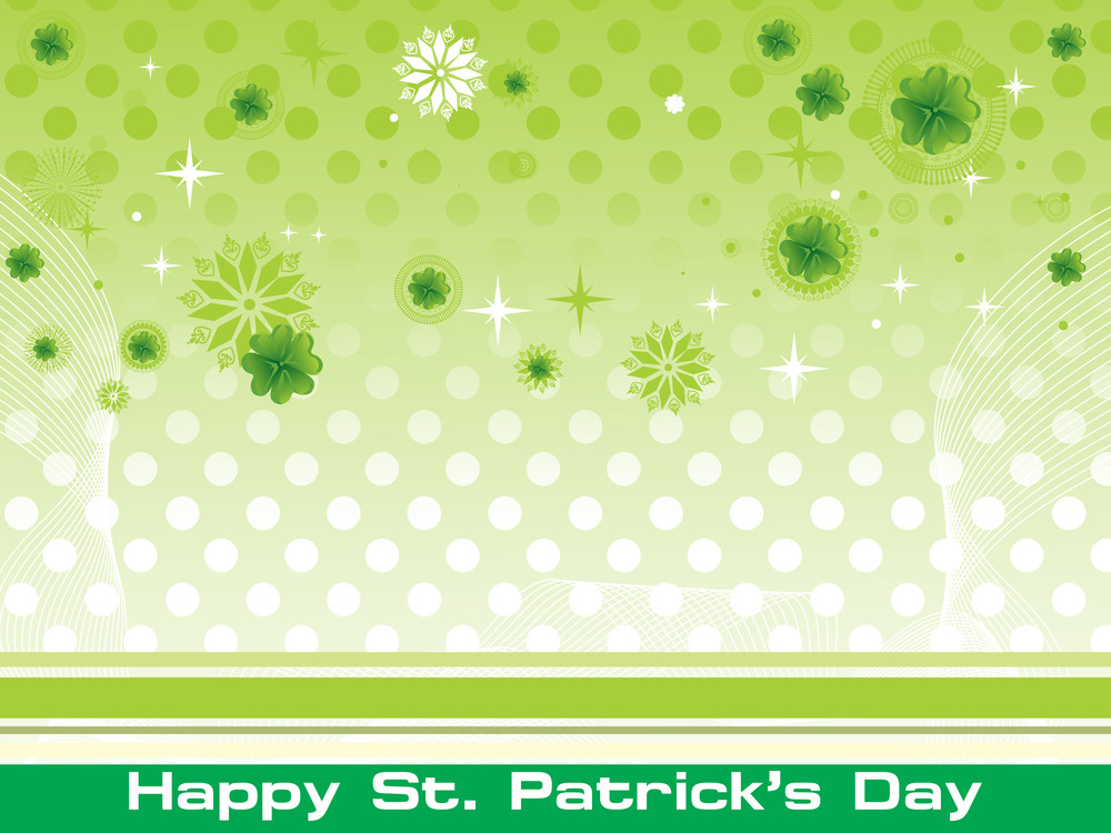 Vector For Patrick Day