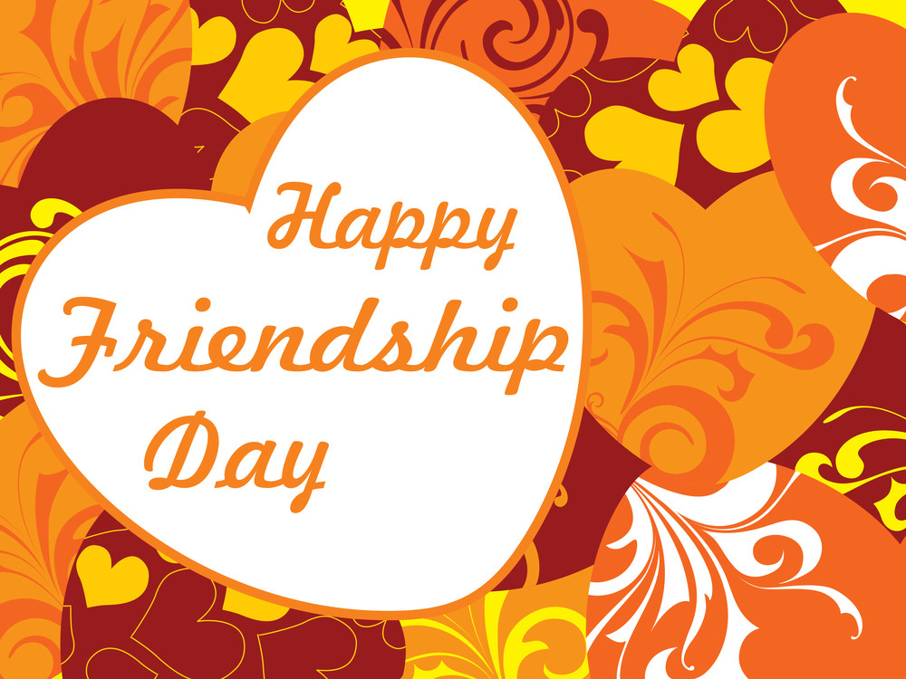 Vector Friendship Day Wallpaper