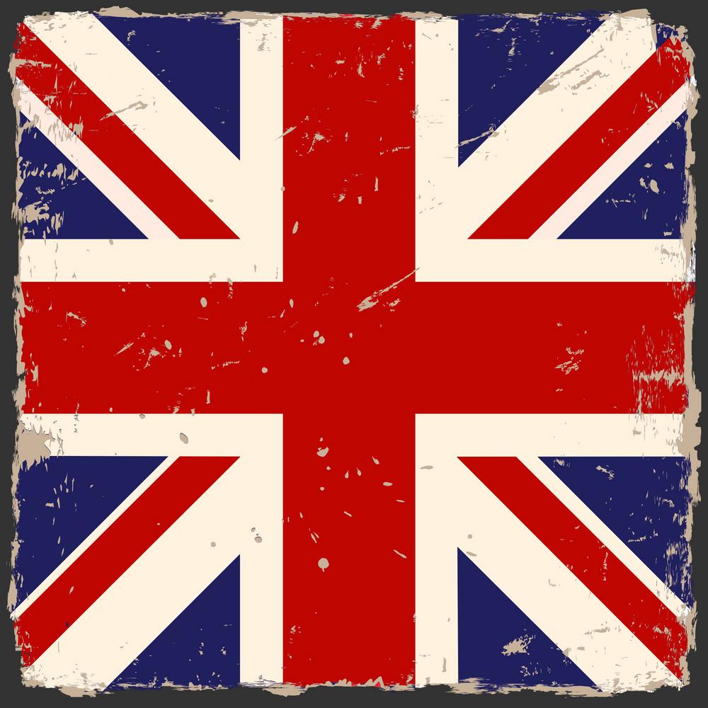 Vector Grunge British Flag