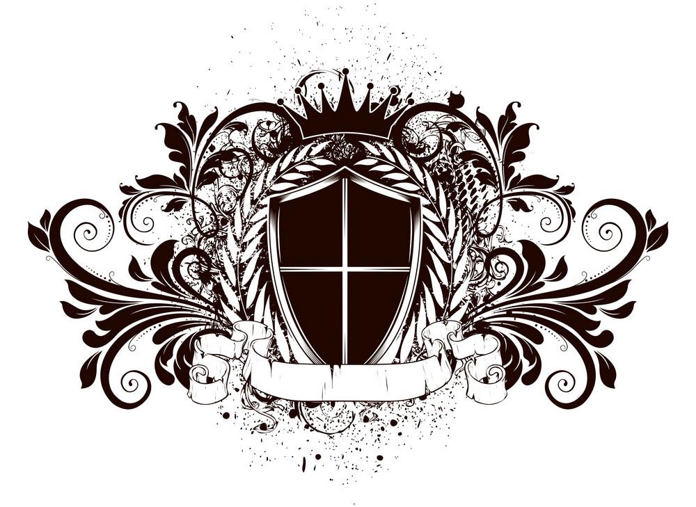 Vector Grunge Vintage Emblem
