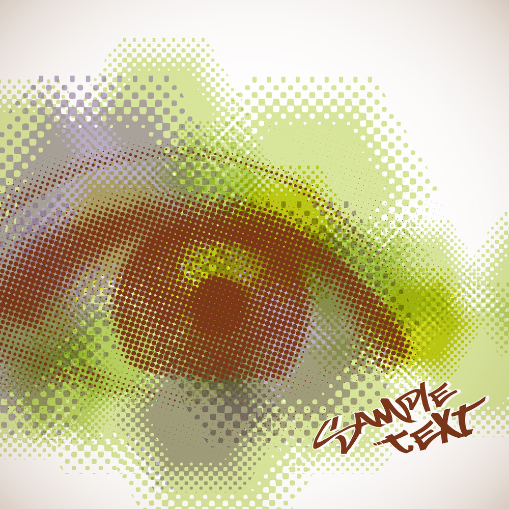 Vector Halftone Eye