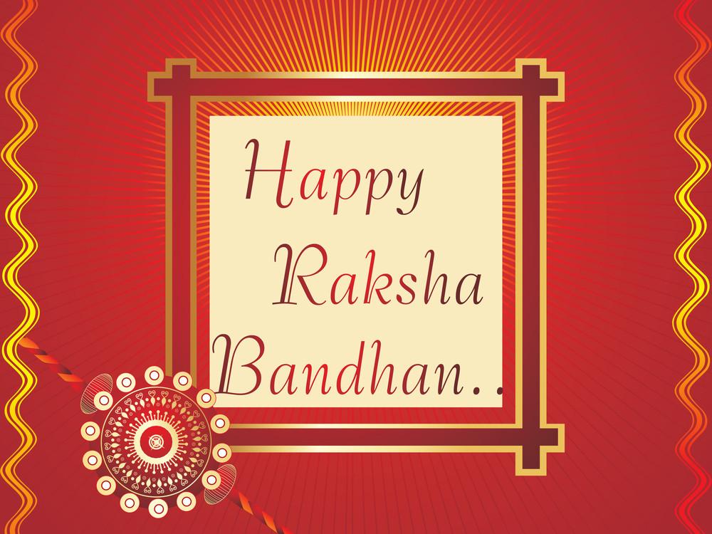 Vector Happy Rakshabandhan