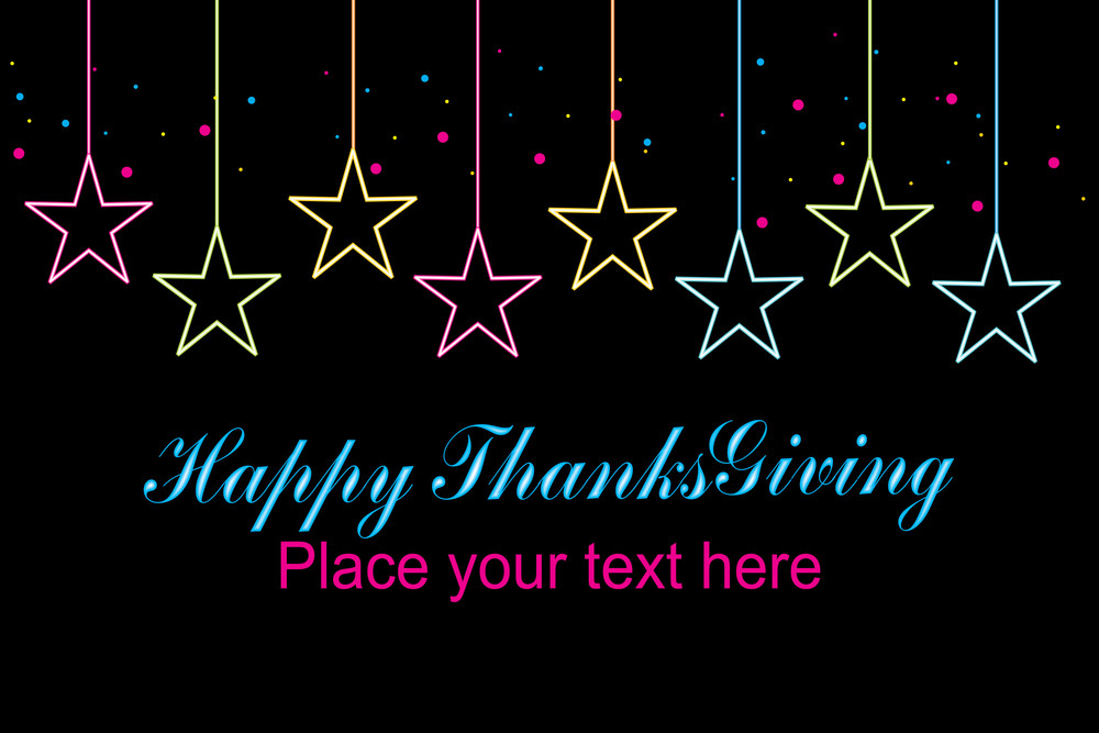 Vector Happy Thank Giving Day Background