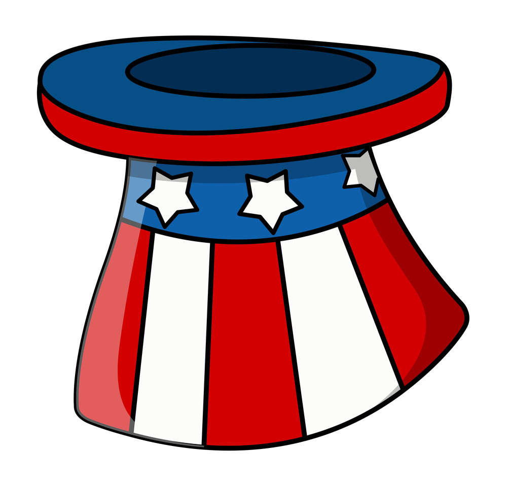 Vector Hat Of Uncle Sam
