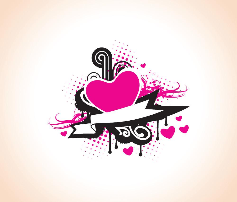 Vector Heart Of Music Valentine