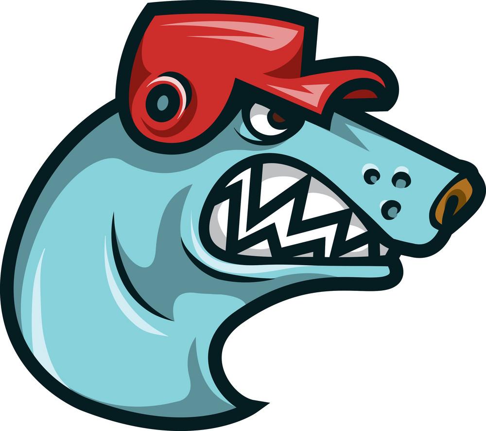 Vector Hockey Mascot