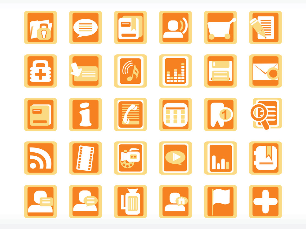 Vector Icons Set