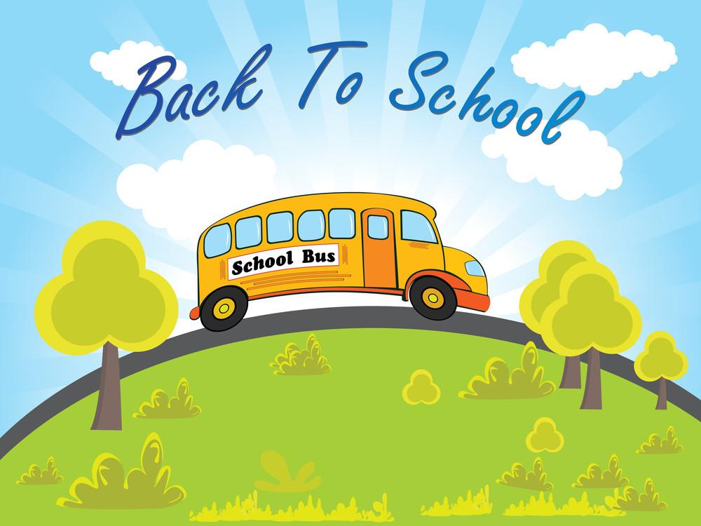 Vector Illustration For Back To School