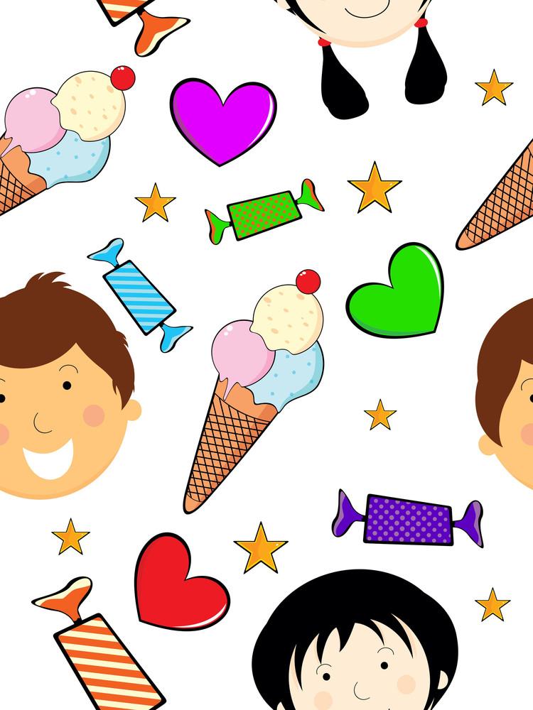 Vector Illustration For Children's Day Celebration