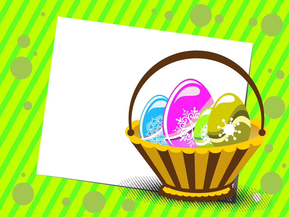 Vector Illustration For Easter Day Celebration