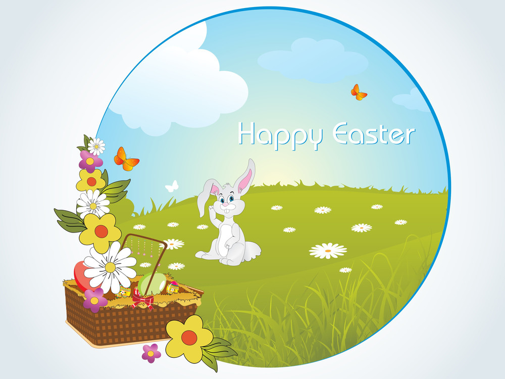 Vector Illustration For Easter Day
