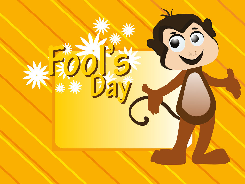 Vector Illustration For Fools Day