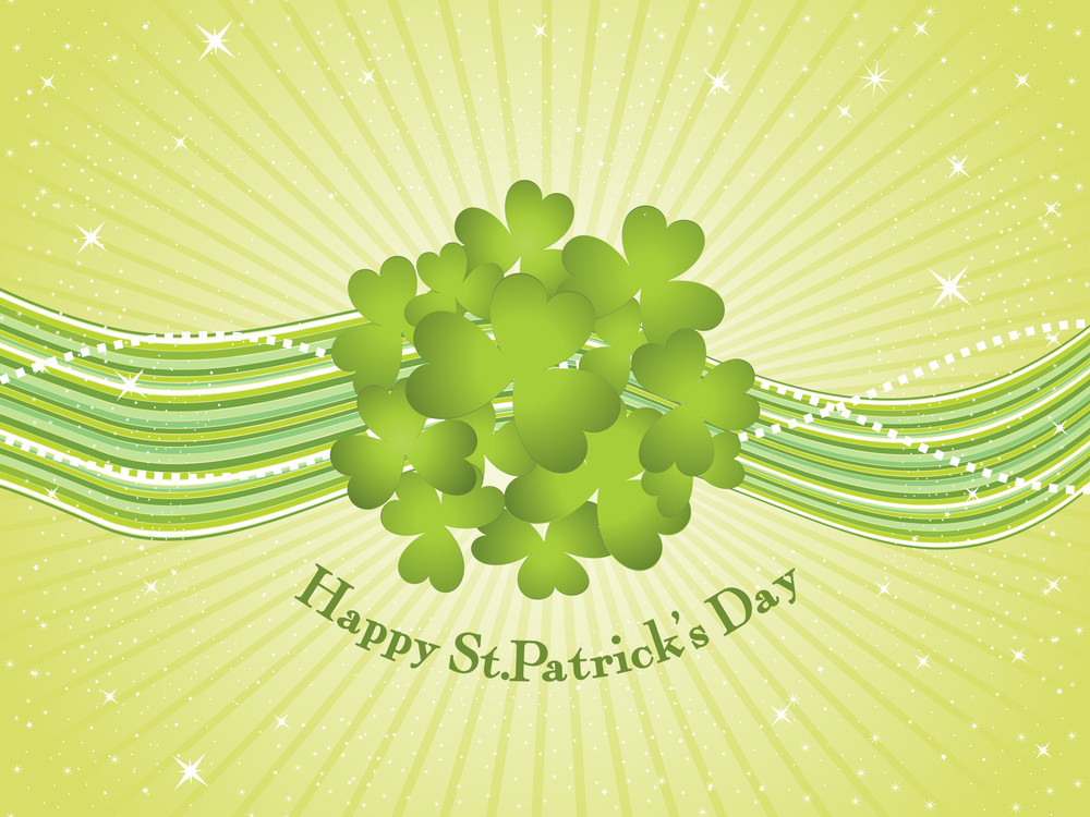 Vector Illustration For Happy St Patrick Day
