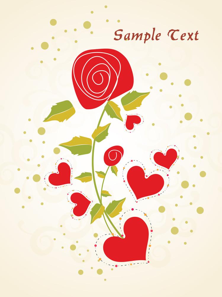 Vector Illustration For Love