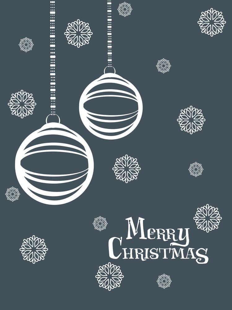 Vector Illustration For Merry Christmas