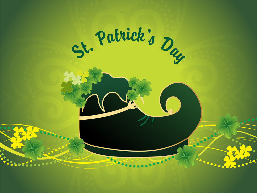 Vector Illustration For St. Patrick's Day