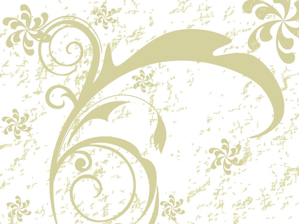 Vector Illustration Of Floral Design